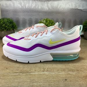 NEW Nike Air Max Sequent White Sneaker / 7, 8, 9
